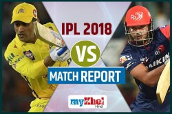 Ipl 2018 Live Csk Vs Dd Csk Playing Against Dd Match 30 In Pune