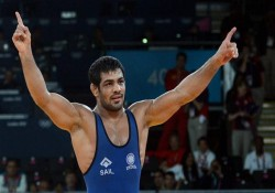 Cwg Wrestler Sushil Kumar Wins Gold Men S Freestyle 74 Kg Category