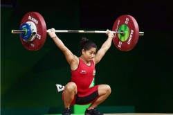 Cwg Gold Medalist Weightlifter Sanjita Chanu Tests Positive For A Banned Substance