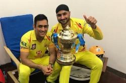 Ipl 2018 Harbhajan Singh Shares Sweet Memories With Ms Dhoni