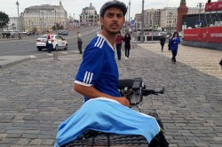 Russia Tour Diary 4 000km 12 Countries The Bicycle Trip An Argentina Fan In Moscow