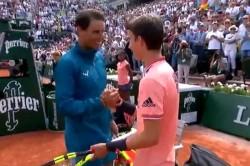 Rafael Nadal Makes Ball Boy S Day Ground