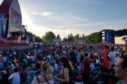Russia Tour Diary Fifa Fan Fest Long Queues Food Beverages And Toilets Irk Visitors