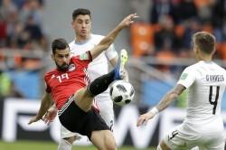 Fifa World Cup 2018 Egypt Vs Uruguay Highlights Jose Gimenez Scores Winner As Uruguay Win 1