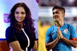 Sunil Chhetri Sania Mirza S Give Take Tweets Tickets Crack Twitterati Up