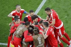 Fifa World Cup 2018 Serbia Vs Switzerland Switzerland Beat Serbia By 2