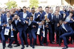 Fifa World Cup 2018 Paris Renames Metro Stations Honour World Cup Win