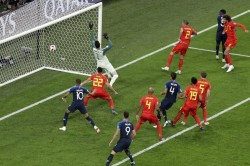 Fifa World Cup 2018 France Belgium Highlights France Reach World Cup Final After Win Over Belgium