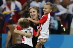 Fifa World Cup 2018 Story Croatia Football Team Captain Luka Modric