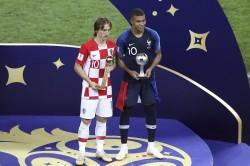 Fifa World Cup 2018 Final France Vs Croatia Luka Modric Got Fifa Golden Ball Award