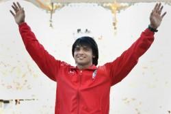 Neeraj Chopra Strikes Gold At Sotteville Athletics Meet