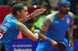 Manika Sharath Won Bronze Table Tennis Asian Games