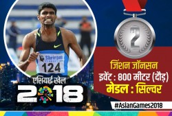 Manjit Won Gold Jinson Johnson Won Silver Asian Games