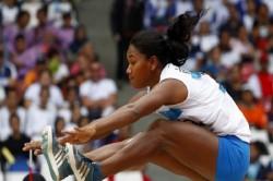Swapna Berman Won Gold Heptathlon Asian Games
