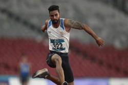 Arpinder Singh Won Gold Mens Triple Jump Asian Games