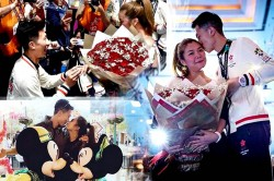 Hong Kong Player Propos His Girlfriend After Bronze Asian G