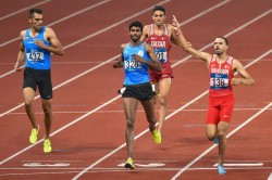 Indian Relay Mens Team Won Silver Medal Race Muhammad Anas A