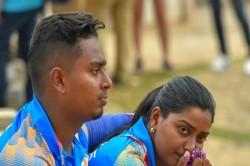 Asian Games Deepika Kumari Atanu Das After Defeated Archery