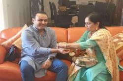 Virender Sehwag Trolls Himself On Rakshabandhan