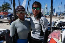 Sailors Varsha Sweta Clinch Silver Asian Games