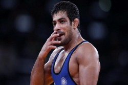 Sushil Kumar Defeat Qualification Round Asian Games