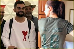 Virat Kohli Anushka Tshirt Went Viral After Return England