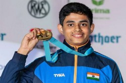 Hriday Hazarika Wins Gold Medal 10m Air Rifle Men S Category