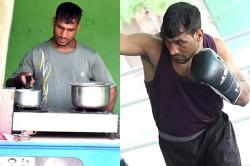 Indias No 1 Boxer Rajesh Is Selling Tea Haryana Want Became Vijender Singh