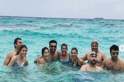 Zaheer Khan Yuvraj Singh Ashish Nehra Enjoying Holiday Maldives