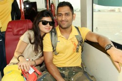 Sakshi Names This Cricketer As The Reason Why She Ms Dhoni Are Together