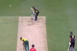 Kagiso Rabada Strange Delivery Maxwell During The Only T20 Against Australia