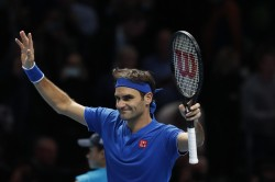 Roger Federer Has Reached Into The Semi Final Atp Final