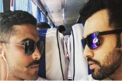 Rohit Sharma Gives Royal Welcome Sir Ravindra Jadeja On Instagram