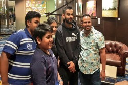 Kohli Brutally Trolled On Twitter Posing With Fans