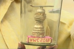L Eswar Rao Made Miniature Model Men S Hockey World Cup Trophy