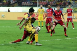 Kerala Blasters Played 1 1 Draw Against Jamshedpur Fc Indian Super League Isl