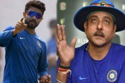 Saurashtra Head Coach Informed Ravindra Jadeja Had No Fitnes Issue