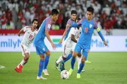 Afc Asian Cup 2019 Uae Defeats India 0
