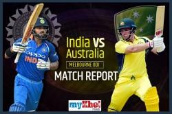 India Vs Australia 3rd Odi Live Commentary Live Updates Live Updates