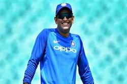 Watch Ms Dhoni Jokes With Sanjay Bangar About His Retirement 3rd Odi