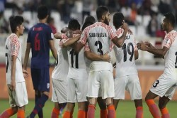 India Vs Thailand Afc Asian Cup 2019 Indian Defeat Thailand By 4