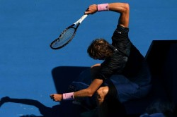 Austraian Open 2019 Alexandar Zverev Wrecked His Racket After Loosing Match Raonic