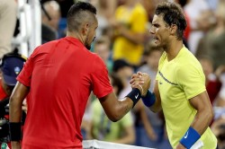Nick Kyrgios Saves Three Match Points Beats Rafael Nadal