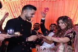 Nitish Rana Set Marriage With Girlfriend Saachi Marwah
