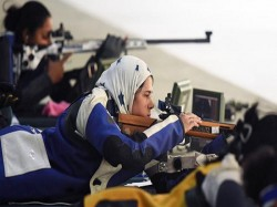 Pakistani Players Of Issf Shooting World Cup