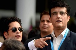 Sourav Ganguly Said Sachin Tendulkar Wants Two Points I Want World Cup