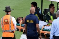 Dimuth Karunaratne Injured On Pat Cummins Bouncer Hospitalised