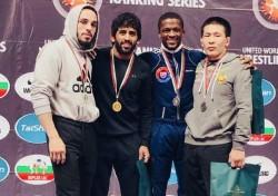 Bajrang Punia Wins Gold Bulgaria Dedicates Medal Abhinandan