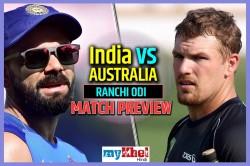 India Vs Australia 3rd Odi India S Eyes Will Be On The Series Win Ranchi