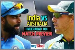 India Vs Australia 1st Odi Preview India S Search Perfect Eleven Will Continue Hyderabad